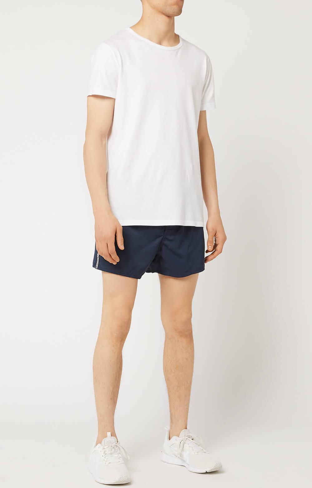 Emporio Armani Costume Da Bagno Uomo Multi Logo Tape Swim Shorts 2117429p420 Ebay