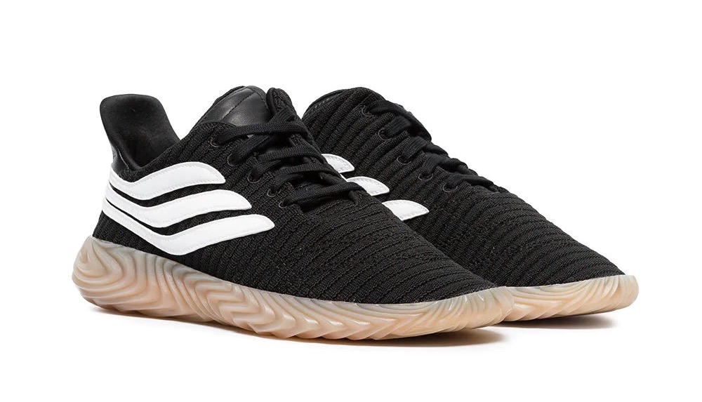 5da421bad31 Designer Style ID  AQ1135 IN STOCK Retail Price   185.00. Description Adidas  Originals Sobakov Sneakers Core Black Footwear White Gum 3