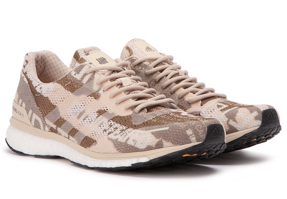 new product 7a2f7 bfc09 Details about ADIDAS CONSORTIUM x UNDEFEATED ADIZERO ADIOS 3 TRAINERS  SNEAKER MEN SHOES B27771