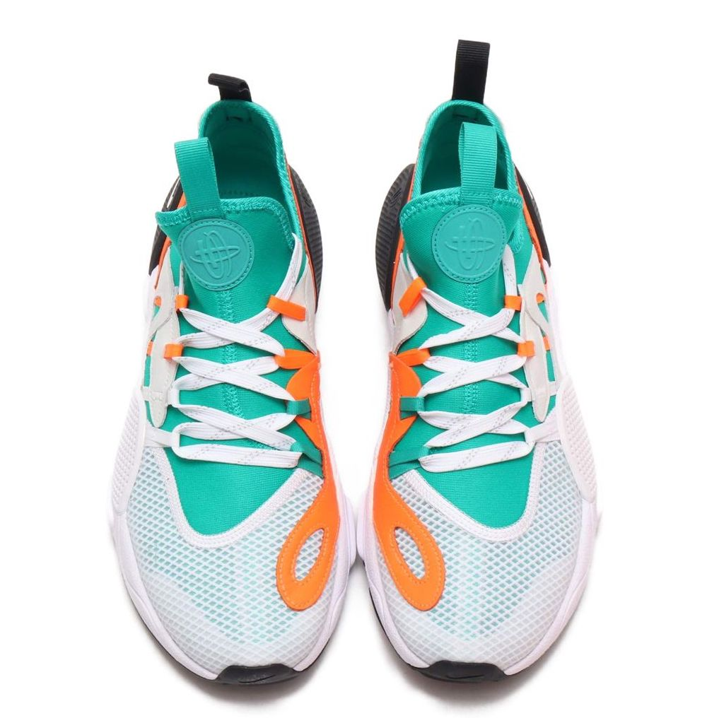 9873279a195 NIKE. NIKE. Designer Style ID  BQ5206100 IN STOCK Retail Price   200.00.  Description Nike Huarache E.D.G.E. TXT QS Sneakers White Clear Emerald