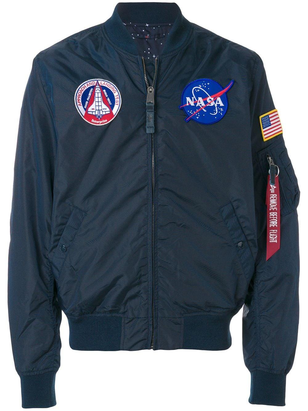 MA-1 TT NASA Reversible Bomber Jacket