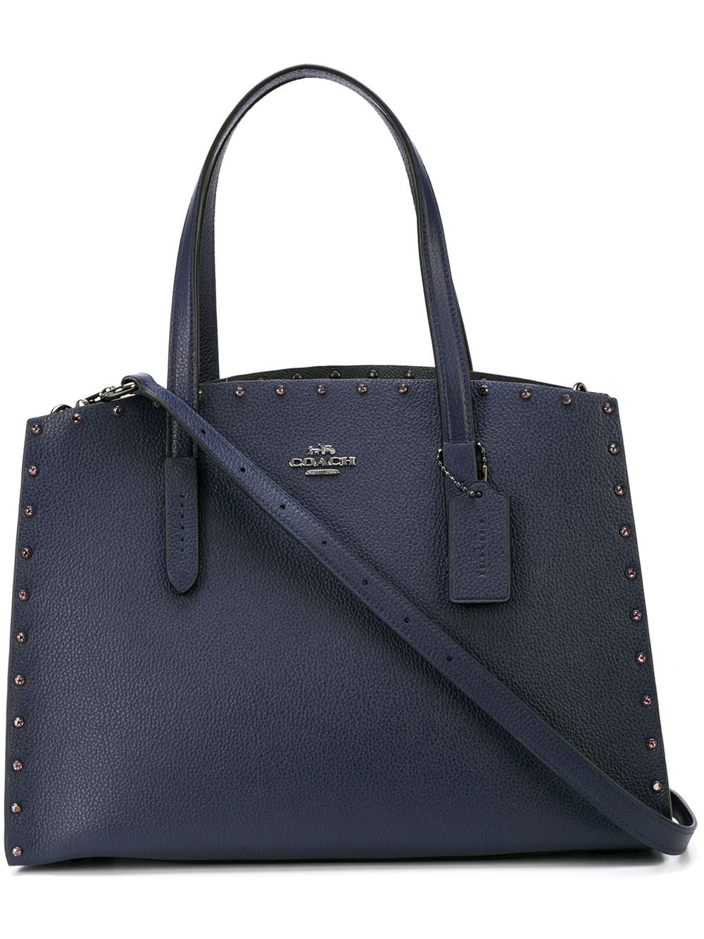 Crystal Rivet Charlie Carryall Bag