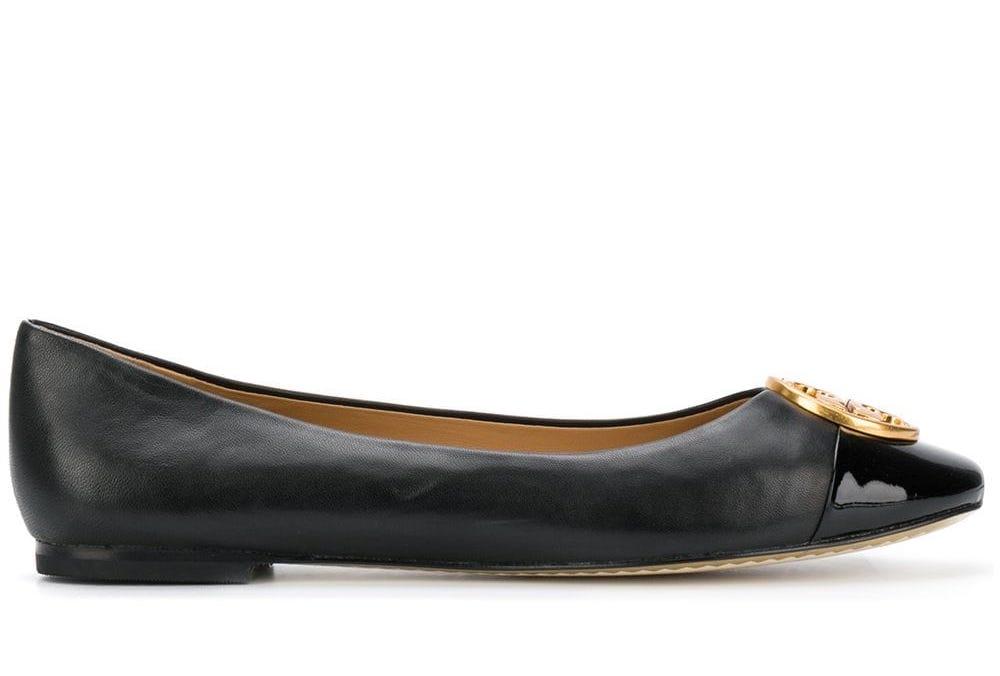 Chelsea Cap-Toe Ballerina Flat