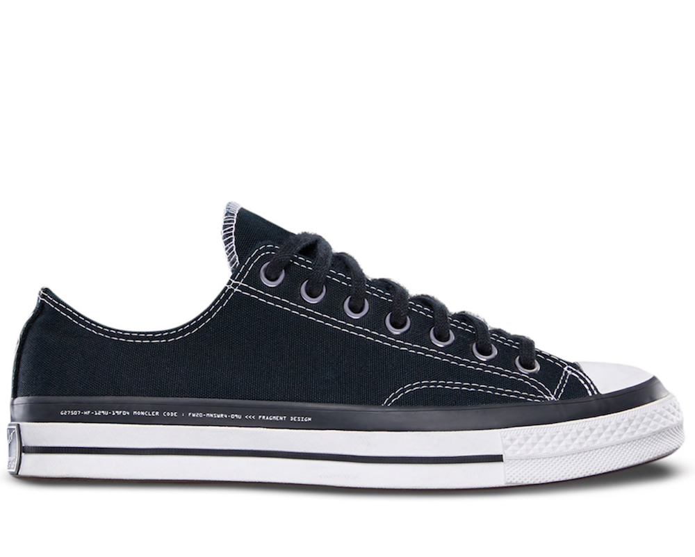 7 Moncler Genius x Fragment x Converse Chuck 70 Sneakers
