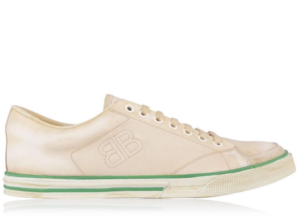 Balenciaga Logo Low Sneakers