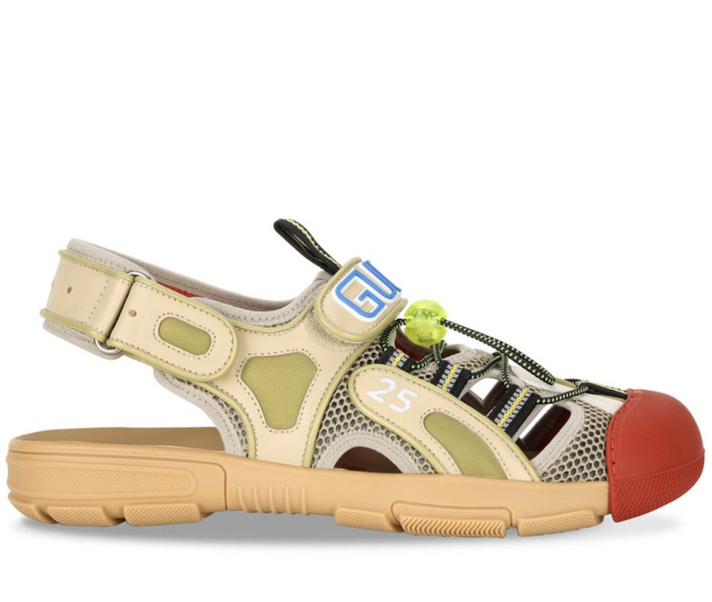 Gucci Mixed Logo Sneakers Sandals