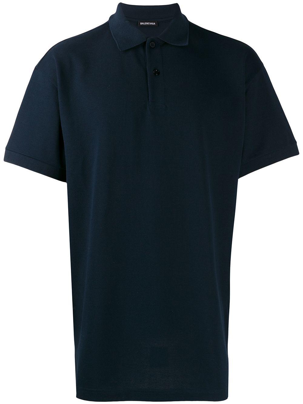Balenciaga Est. 1917 Logo Polo Shirt