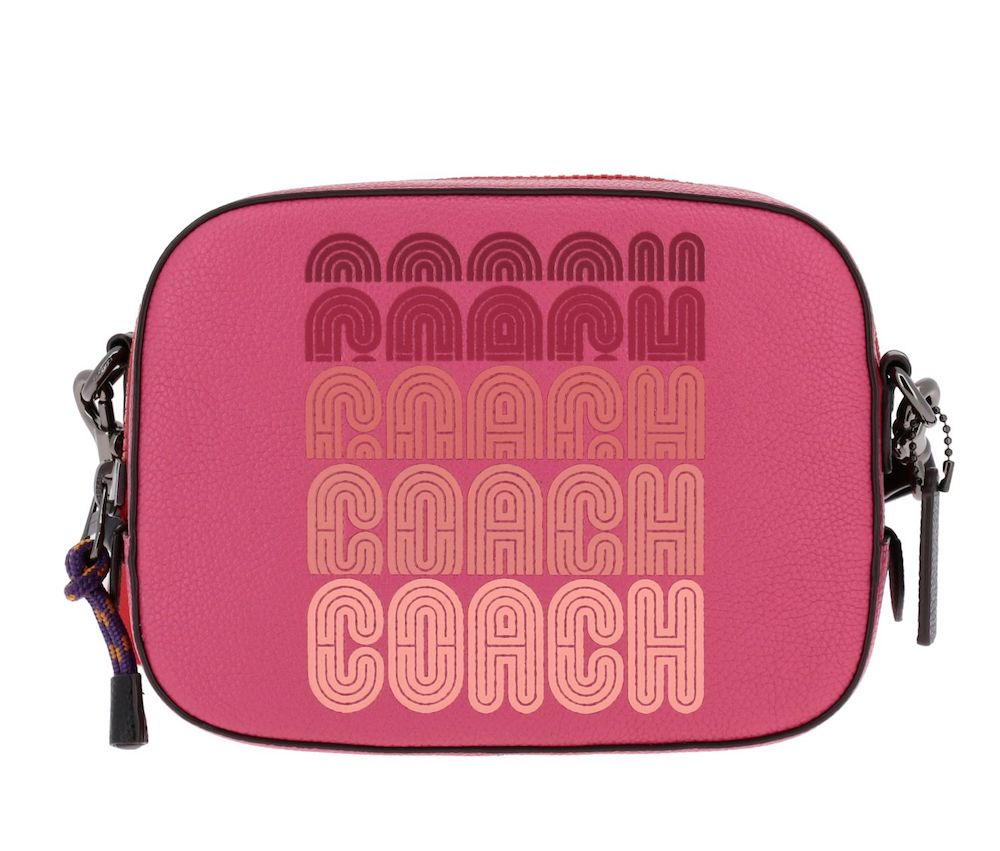 Logo Print Camera Bag