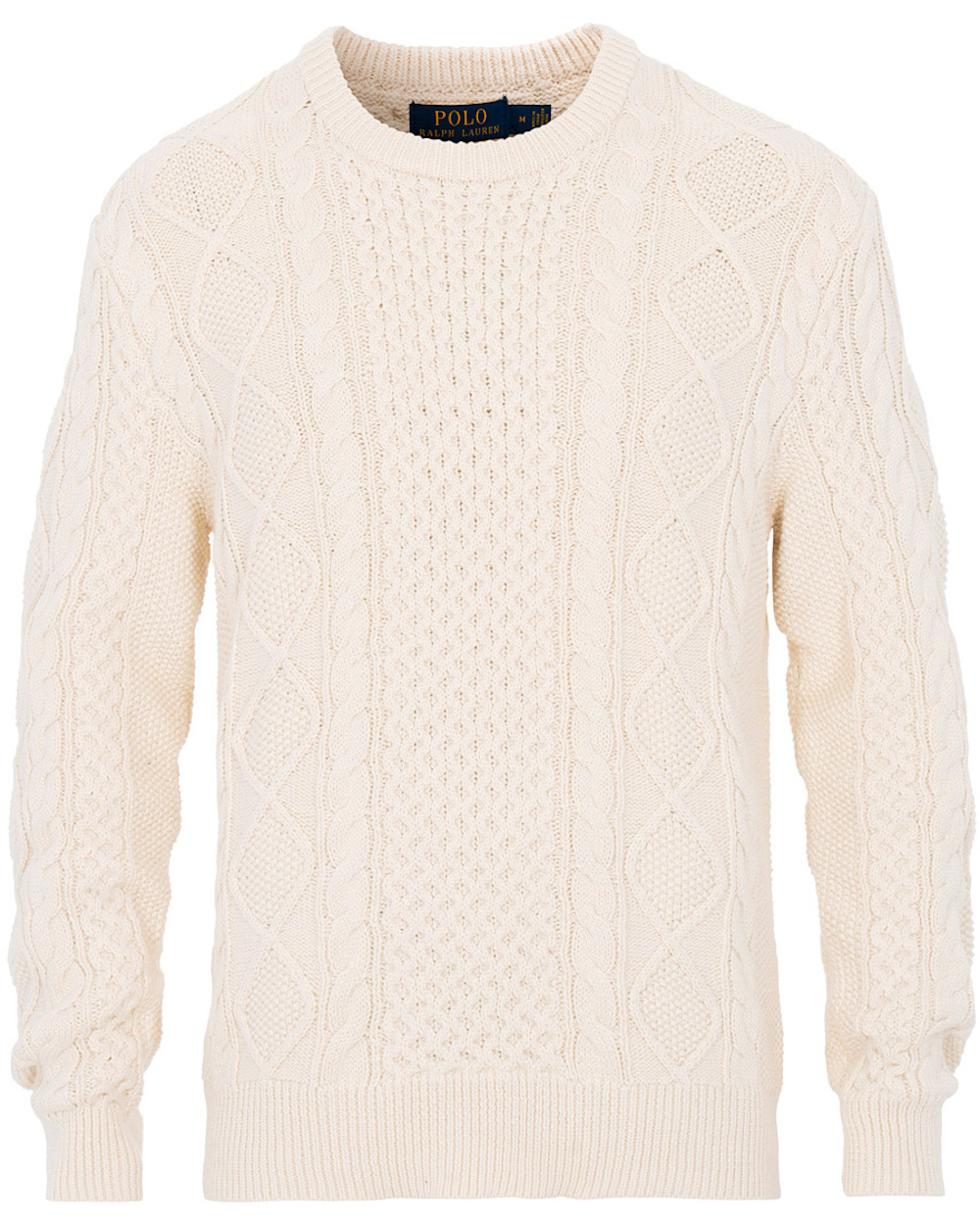 Polo Ralph Lauren Señores Suéter Cream Cable Classic Sweater 710766783003 Ebay