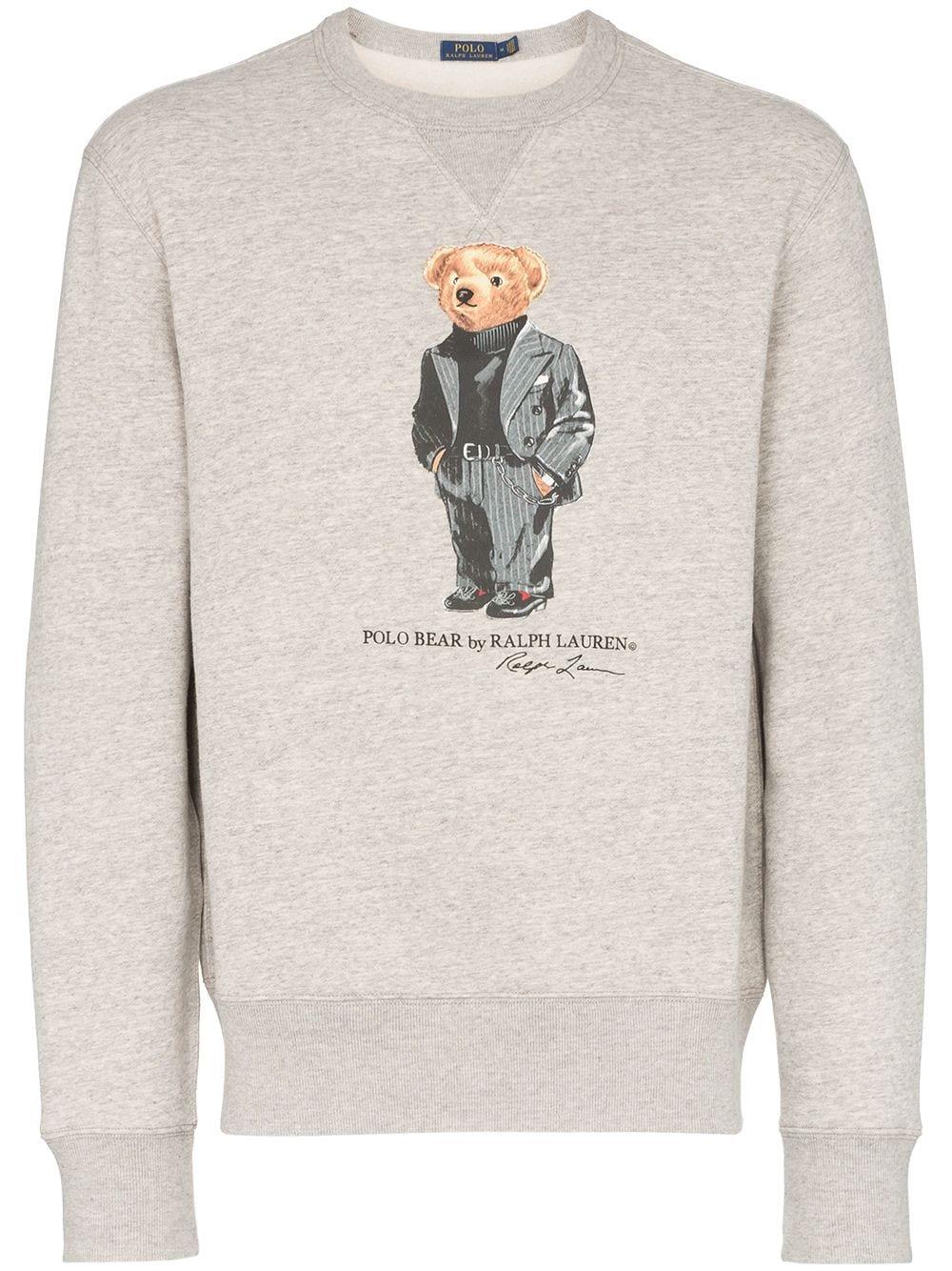 Suave Polo Bear Logo Sweatshirt