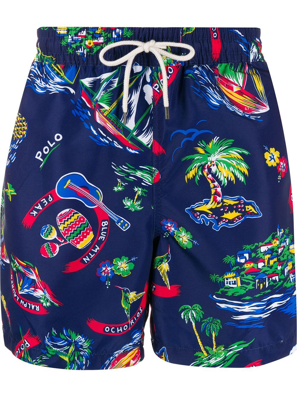 Jamaica Tropical Swim Shorts