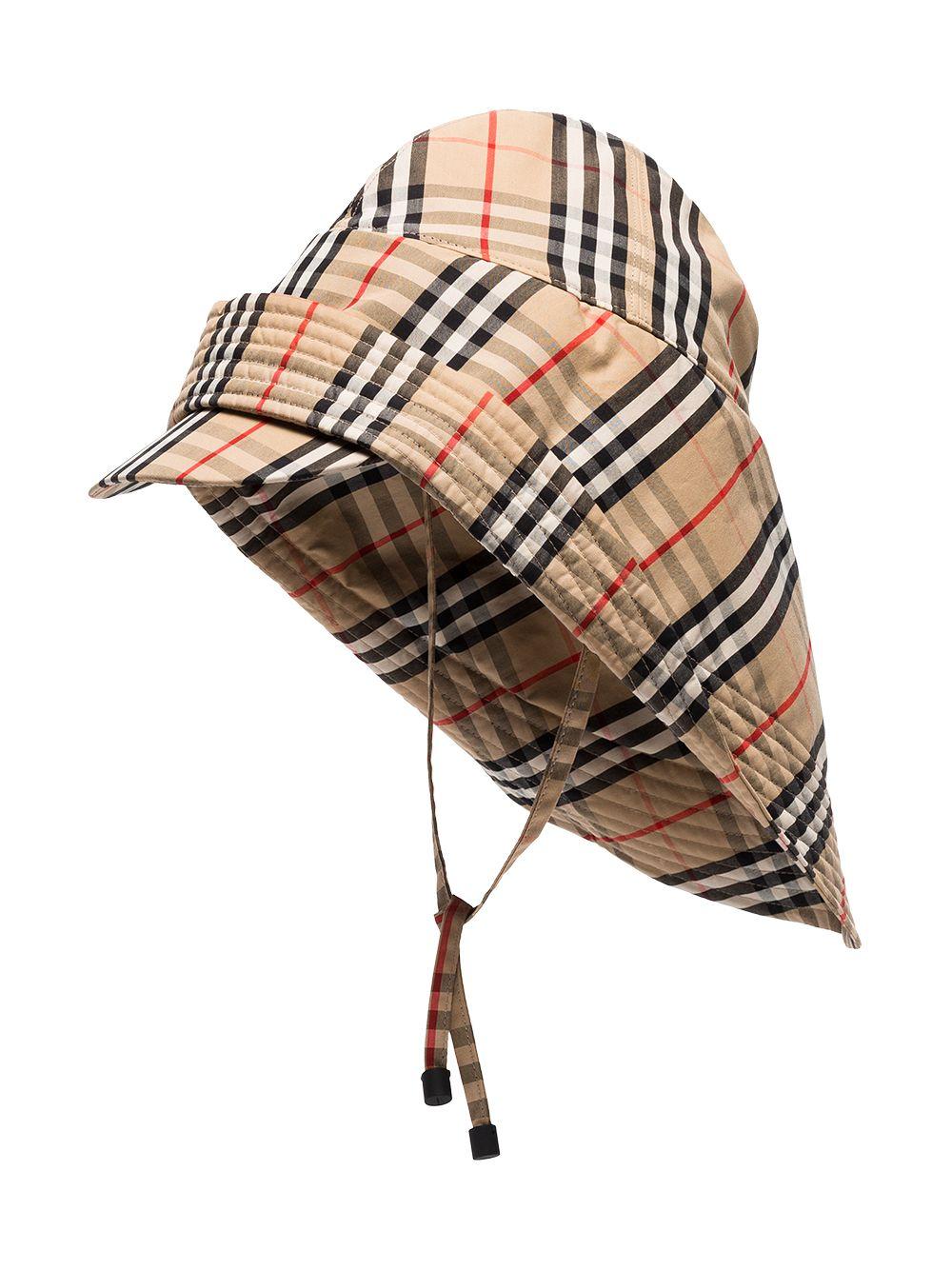 Archive Check Rain Hat