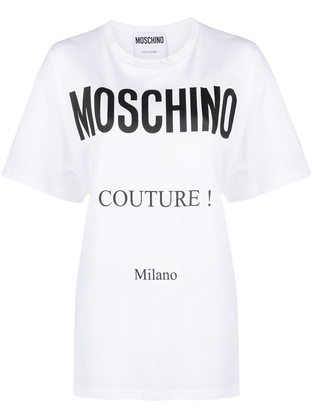 Moschino Couture Oversize Logo T-Shirt