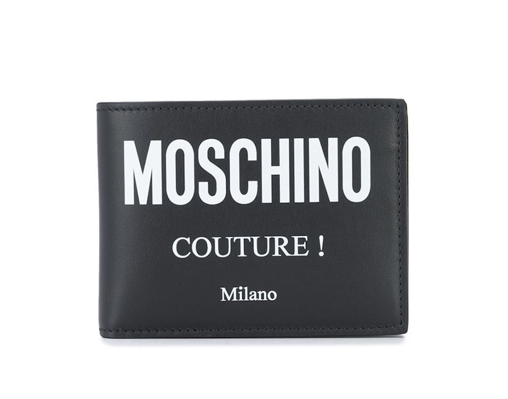 Moschino Couture Logo Bifold Wallet