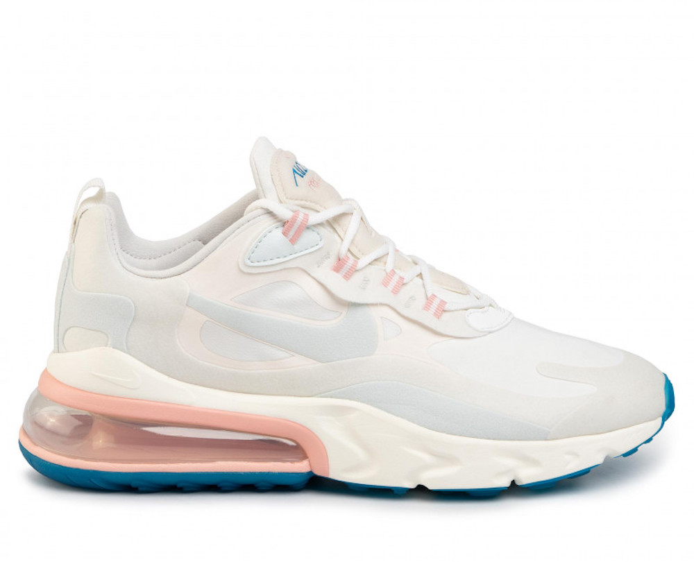 Hysterical incident Mechanic  NIKE AIR MAX 270 REACT SUMMIT WHITE/GHOST AQUA SNEAKERS SCARPE UOMO  AO4971-100 | eBay