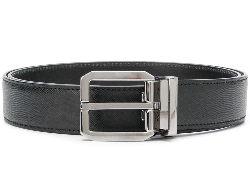 Classic Logo Buckle Belt