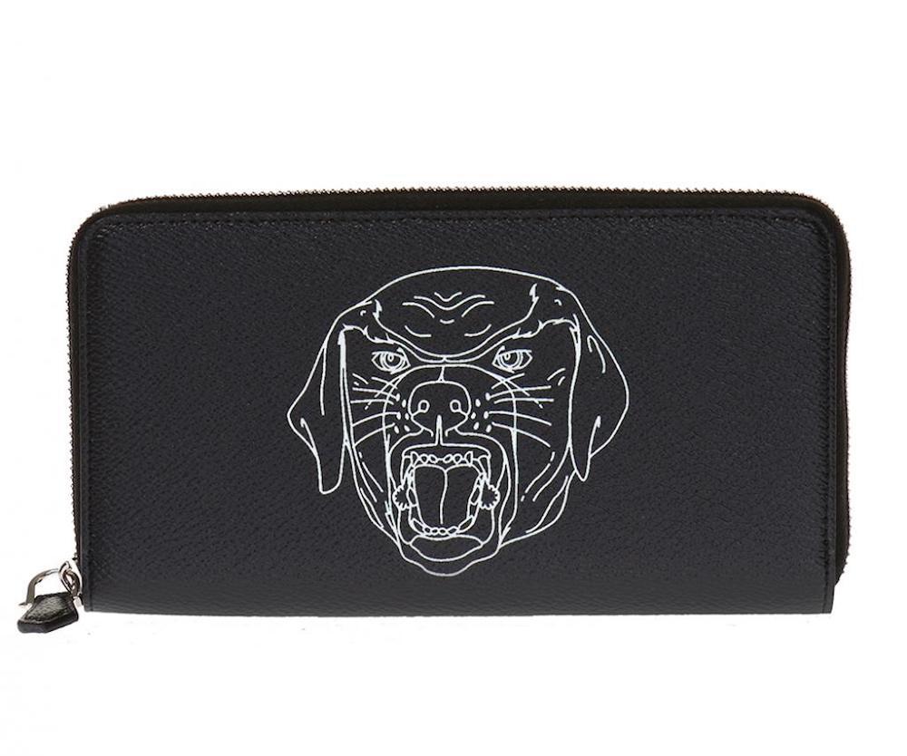 Rottweiler Zip Around Wallet