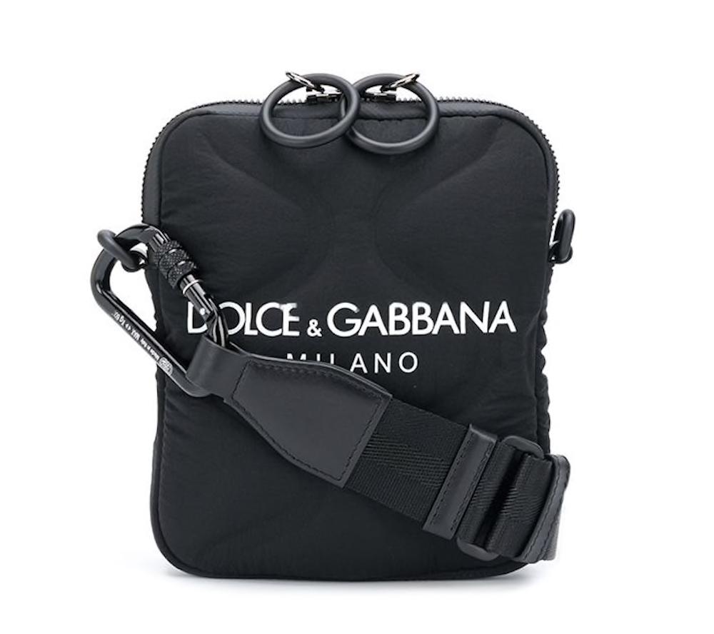 Neoprene Logo Crossbody Bag