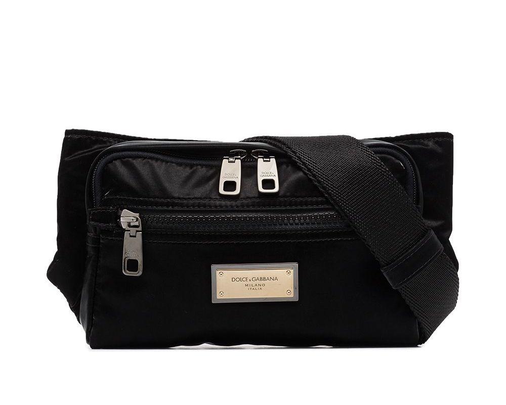 Dolce & Gabbana Sicilia Logo Belt Bag