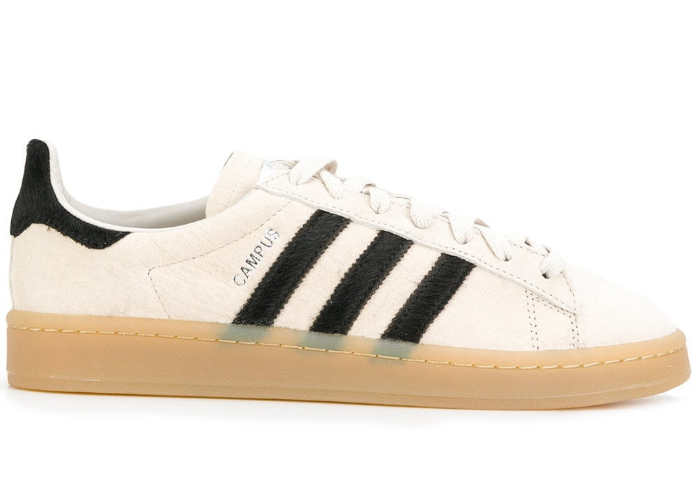 adidas Originals Campus Trainers In Beige BZ0072
