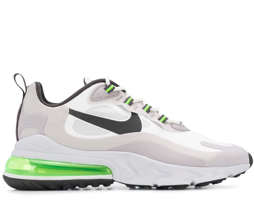 Person in charge recommend Outlook  NIKE AIR MAX 270 REACT SUMMIT WHITE/GREEN SNEAKERS SCARPE UOMO CI3866-100 |  eBay
