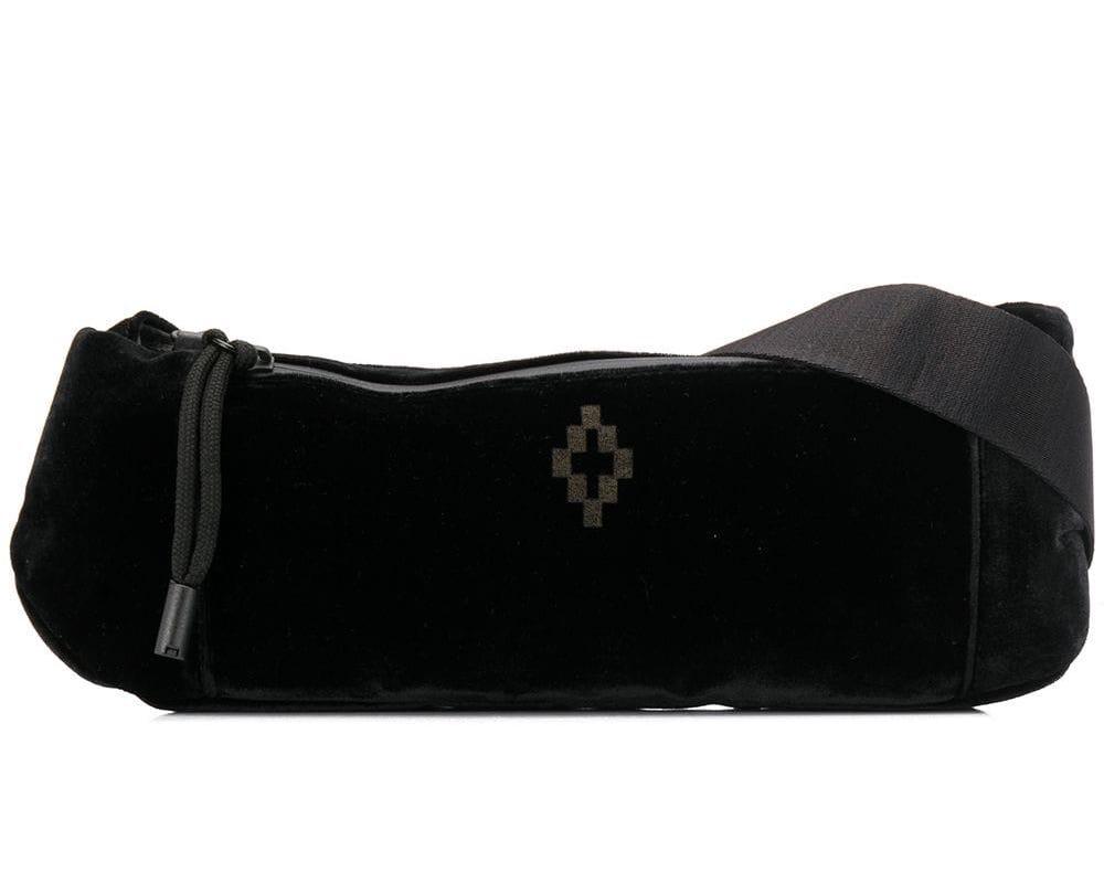 Cross Logo Fanny Pack Bum Bag Black