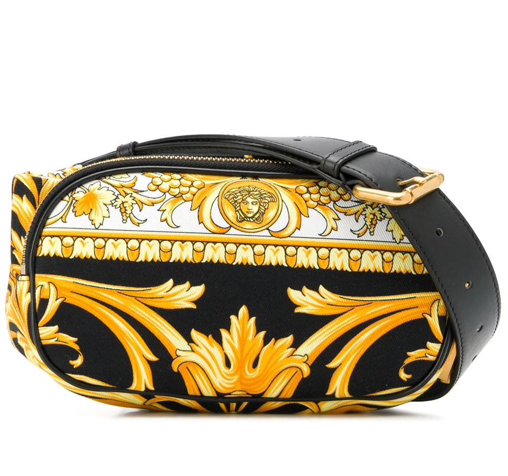 Barocco Print Tribute Belt Bag
