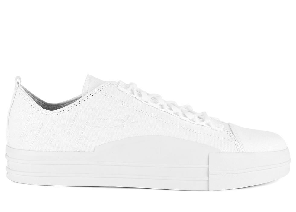 Yuben Low White Sneakers