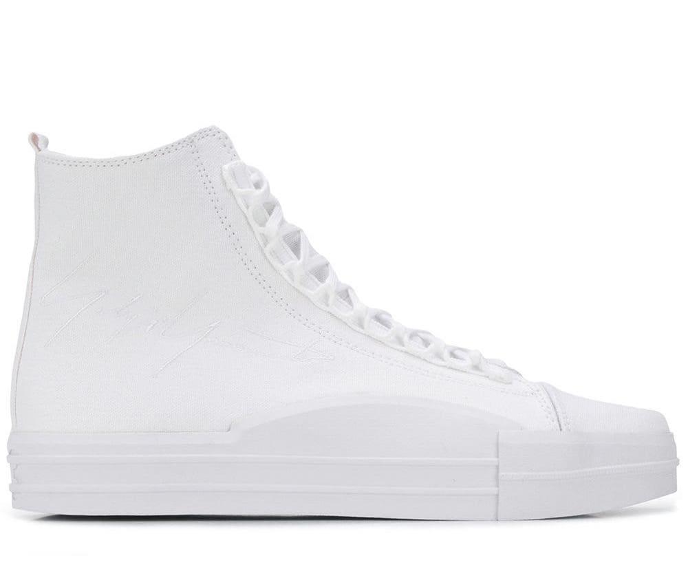 Yuben Mid Triple White Sneakers