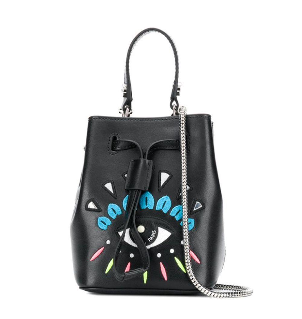 Eye Logo Mini Bucket Bag
