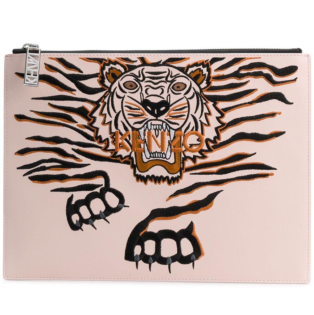 Geo Tiger Logo A4 Envelope Bag