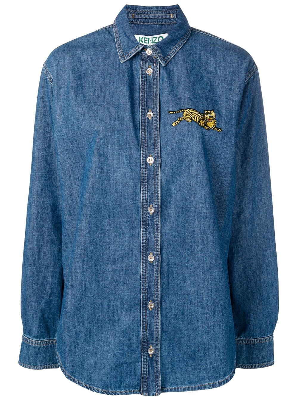 Jumping Tiger Denim Shirt