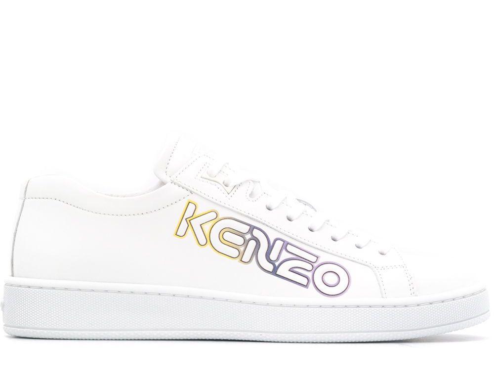 Kenzo Tennix Wetsuit Logo Sneakers
