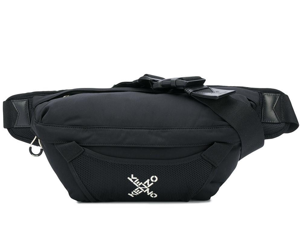 Kenzo Big X Logo Large Bum Bag