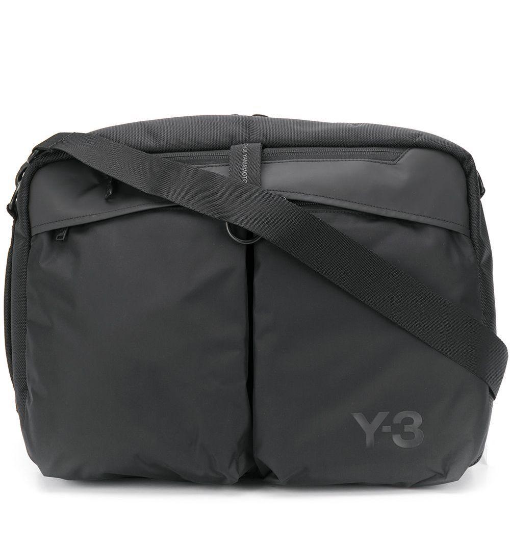 Holdall Logo Crossbody Bag