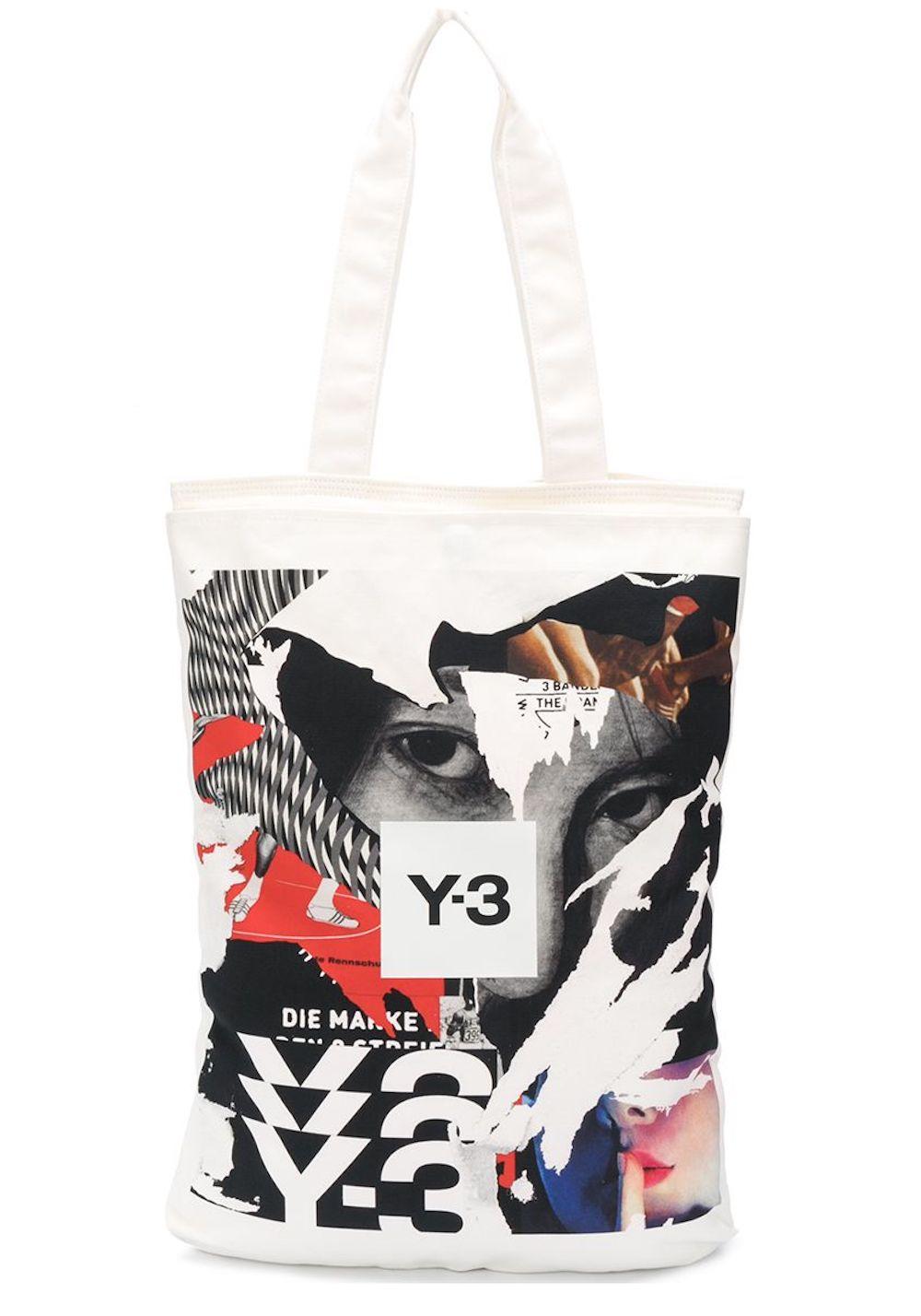 Y-3 CH1 Logo Tote Bag