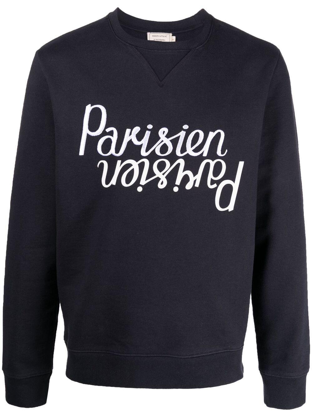 Maison Kitsuné Parisien Logo Sweatshirt