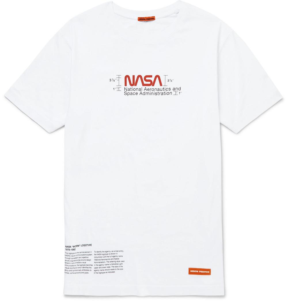 NASA Logo Print T-Shirt
