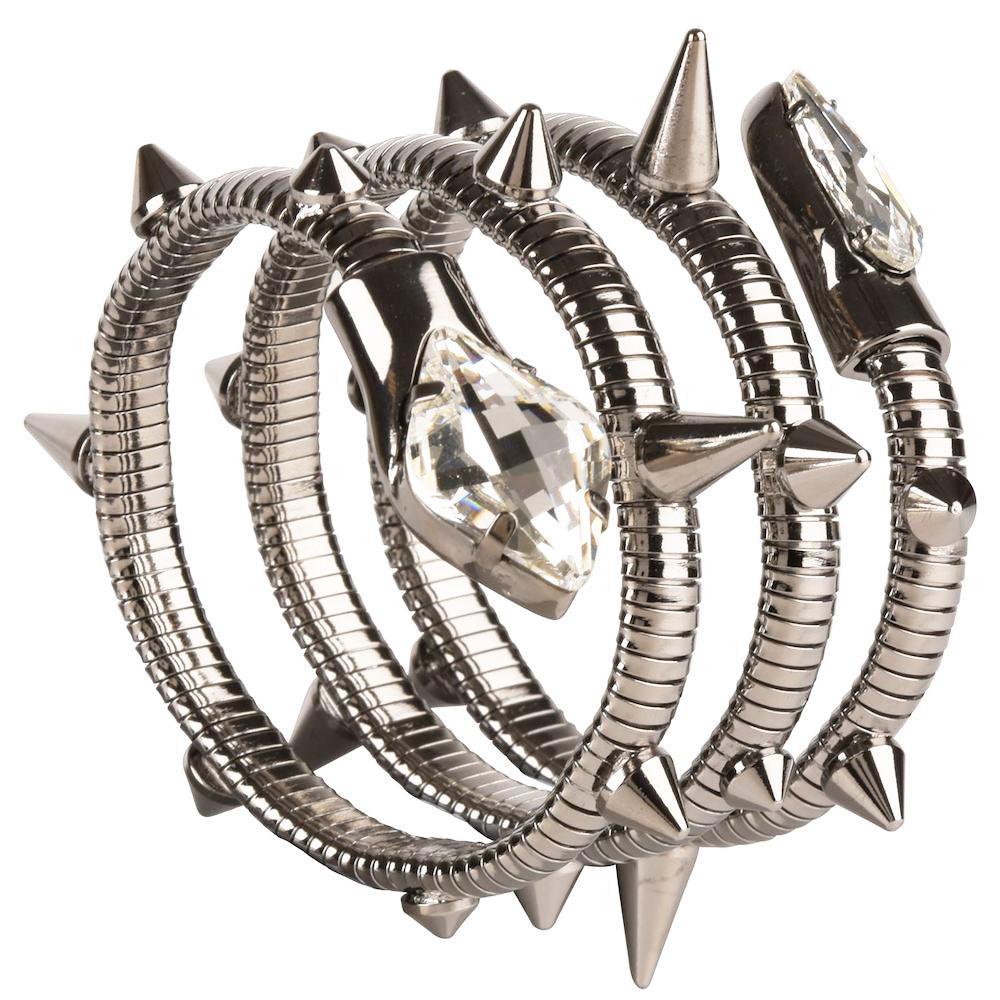 Aleesha Snake Cuff Bracelet