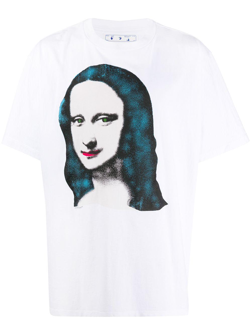 Off-White Mona Lisa Oversize T-Shirt