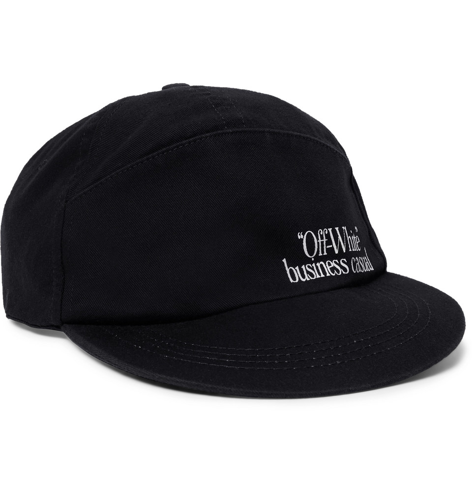 c0fd42e3be0 OFF-WHITE C O VIRGIL ABLOH HAT LOGO BASEBALL CAP ...