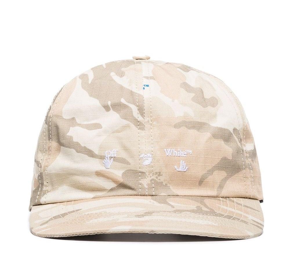 Off-White Camouflage Logo Baseball Cap