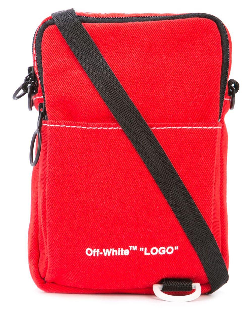 Denim Hip Bag Logo Crossbody Bag