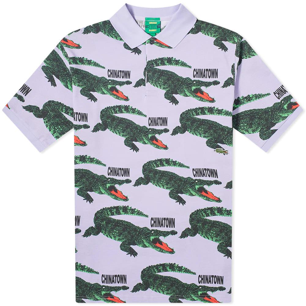 Lacoste L!ve x Chinatown Market Polo Shirt