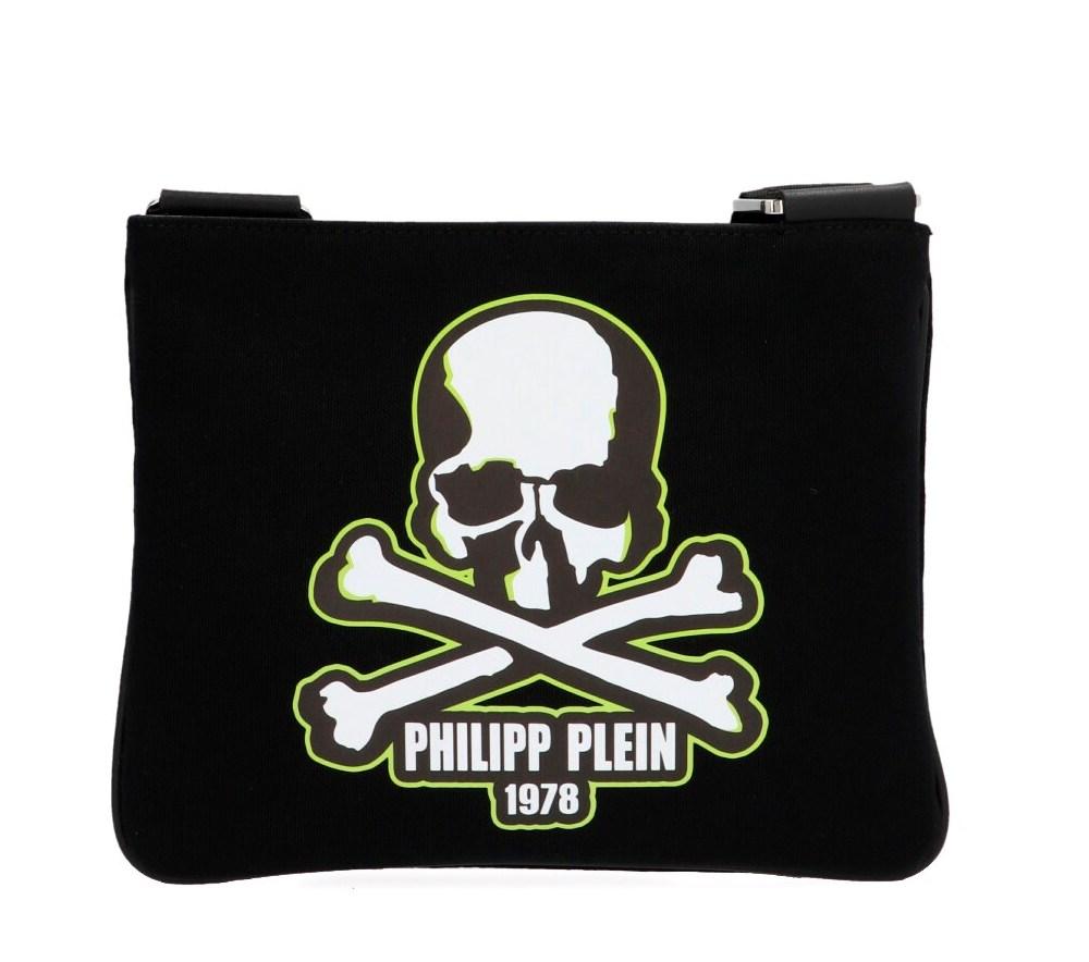 Skull Logo Crossbody Bag