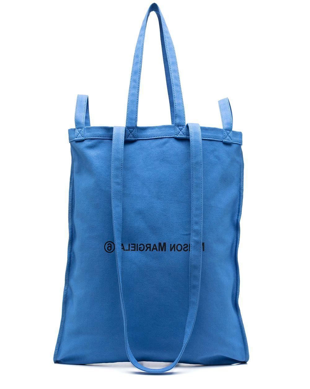 MM6 Backwards Logo Tote Bag