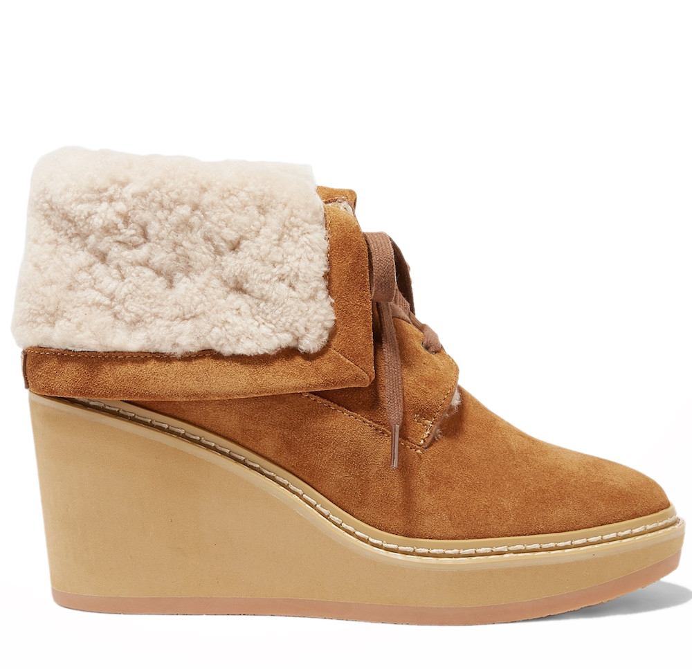 Martinica Shearling Ankle Boots