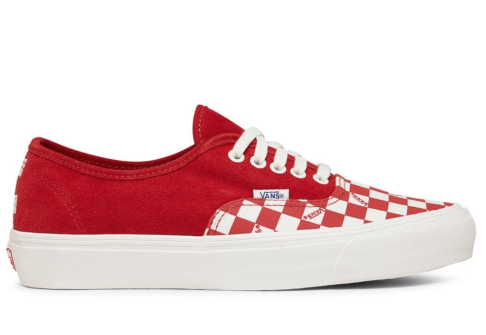 VANS OG AUTHENTIC LX RACING RED
