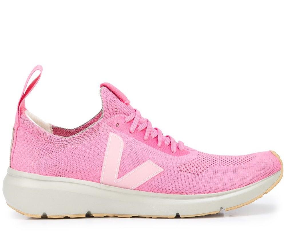 Rick Owens x Veja Low Sock Pop Pink Sneakers