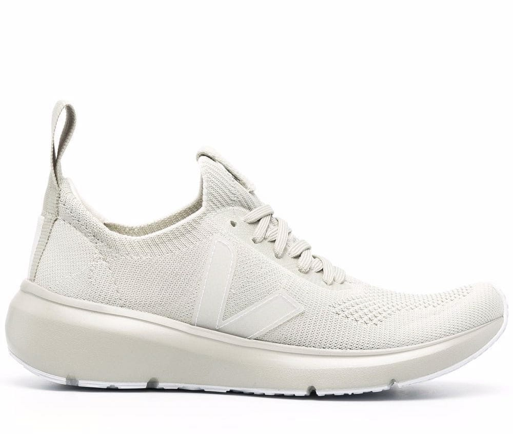 Rick Owens x Veja Low Sock Oyster Sneakers